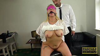 Hardcore sex is all that horny blonde Candice Banks wants to do