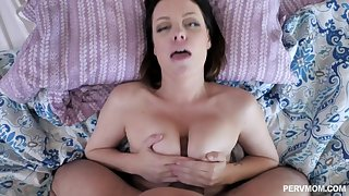 After a blowjob and a titjob Sovereign Syre gets fucked by a dude