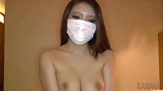 Asian teen in fog Permanent Core creampie