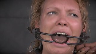 Nasty torture session with take charge blonde mature mommy Rain DeGrey