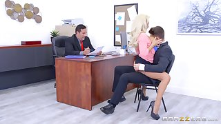 Olivia Fox cannot control impulses in the office setting